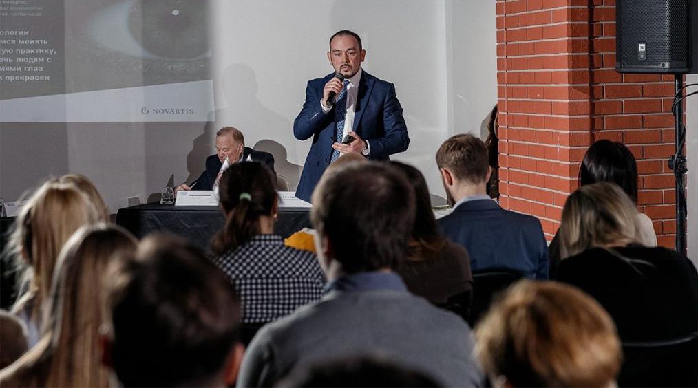 Пресс-конференция «Новартис Фарма»