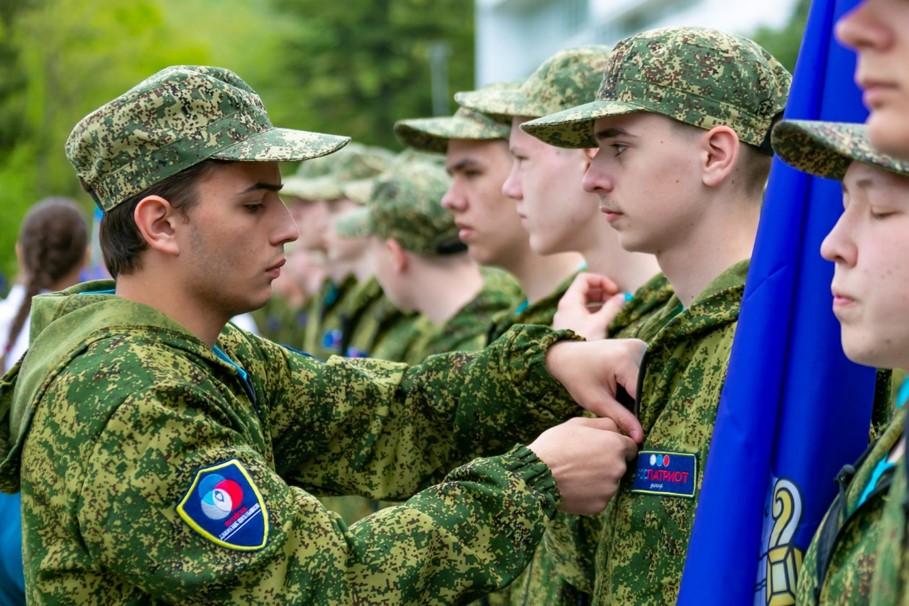Военно-спортивная игра «Орленок»